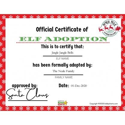 Official Elf Adoption